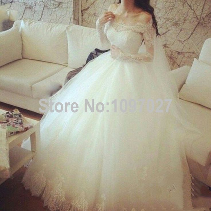 http://fashiongarments.biz/products/ball-gown-boat-neck-long-sleeve-wedding-dress-puffy-soft-tulle-abito-da-sposa-vintage-wedding-gown-bridal-dress-as24/,      Products Description  Item Type:Wedding Dresses   Silhouette:Ball Gown   Neckline:Boat Neck   Back Design:Lace Up   Dress Length:Floor Length   Sleeve Length:Long Sleeve   -Princess Bridal  100% handmade wedding gown   High ...,   , fashion garments store with free shipping worldwide,   US $259.00, US $259.00  #weddingdresses…