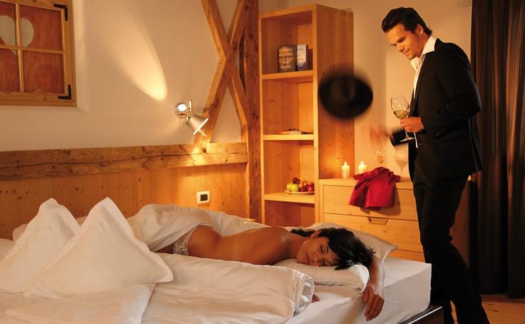 the room of hotel gran ciasa alta badia dolomites
