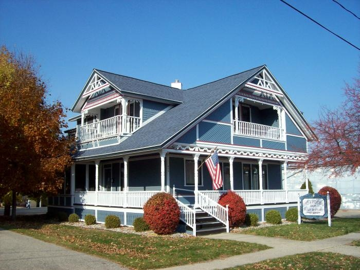 Best Residential Shingle Atlantic Blue Roof Home Yard 400 x 300