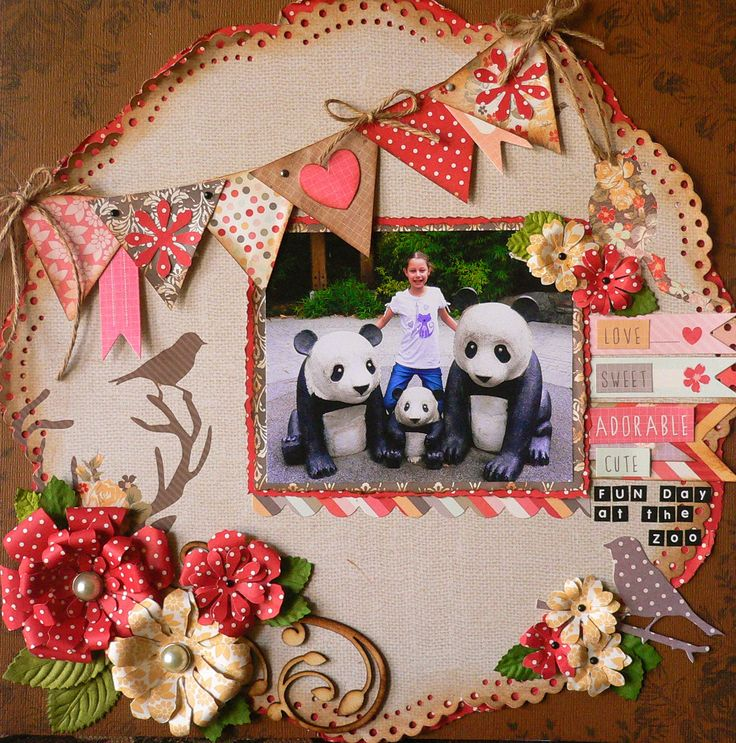 Created for Kaisercraft DT 2013-2014. Sweet Pea paper collection. Adriana Bolzon