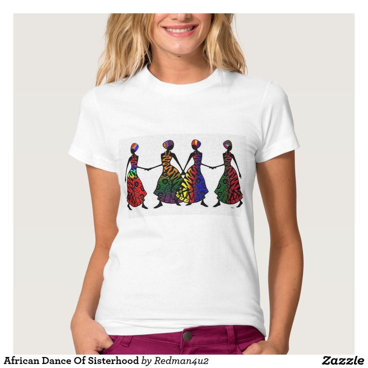 Danza africana de la hermandad camisetas