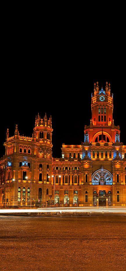 Cibeles palace , Madrid, Spain