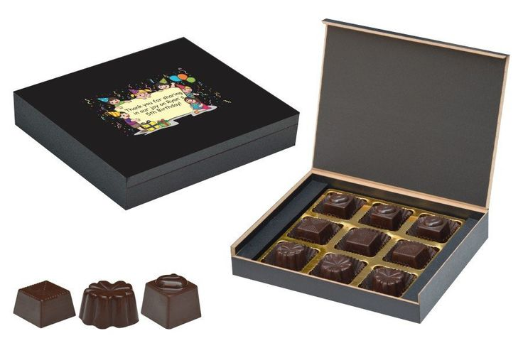Birthday Return Gifts - 9 Chocolate Box - Assorted Candies (10 Boxes)
