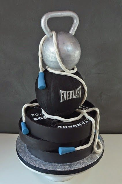 44 Best Gym Cakes Images On Pinterest Gym Cake Conch