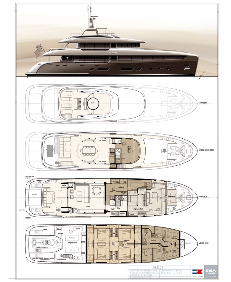 33m motor yacht