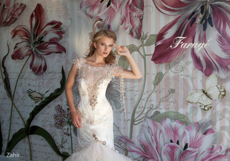 Faragé Wedding Gown - Zahir