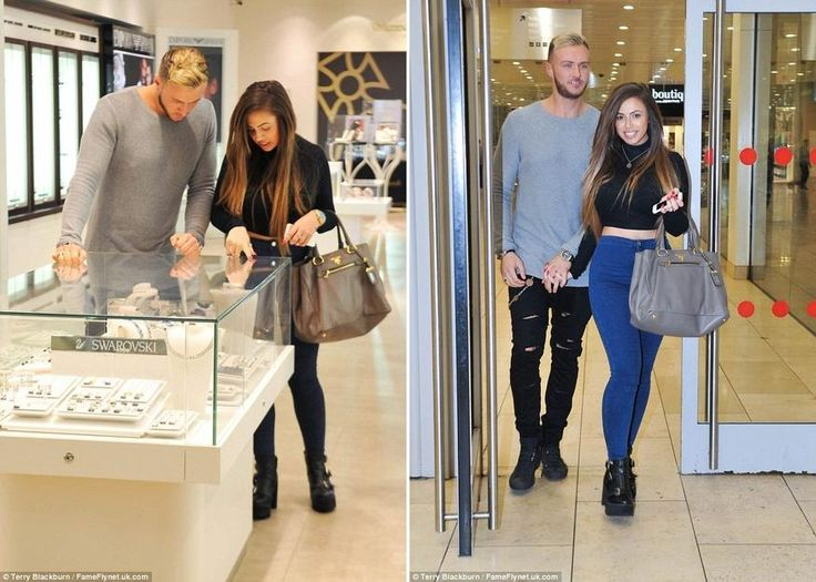 Picking out the perfect ring? Geordie Shore\'s Holly Hagan and boyfriend Kyle Christie spotted at the jewellers. She may only be 22 years old but it seems as though Holly Hagan is keen to grow up fast. Spotted with boyfriend and new co-star Kyle Christie on Friday evening, the Geordie Shore star appeared to be shopping for a ring. The couple were seen inside a jewellers at Manchester\'s Metro Centre looking through a show glass at various cuts by Swarovski. Leaving the venue without a ...