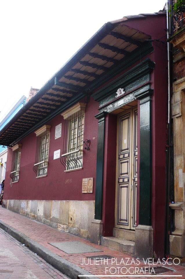 Casa de Poesia Silva. Centro de Bogota.