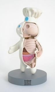 dissected Pillsbury Dough Boy
