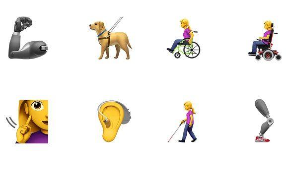 We Need These Disability Emojis Asap Emoji Disability Service Animal