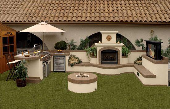 , Outdoor Kitchens, Gardens, Bbq Islands, Patios Backyards Ideas