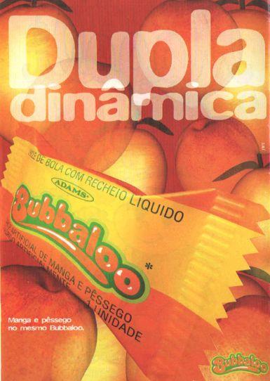 Bubbaloo Manga e Pêssego(1995)