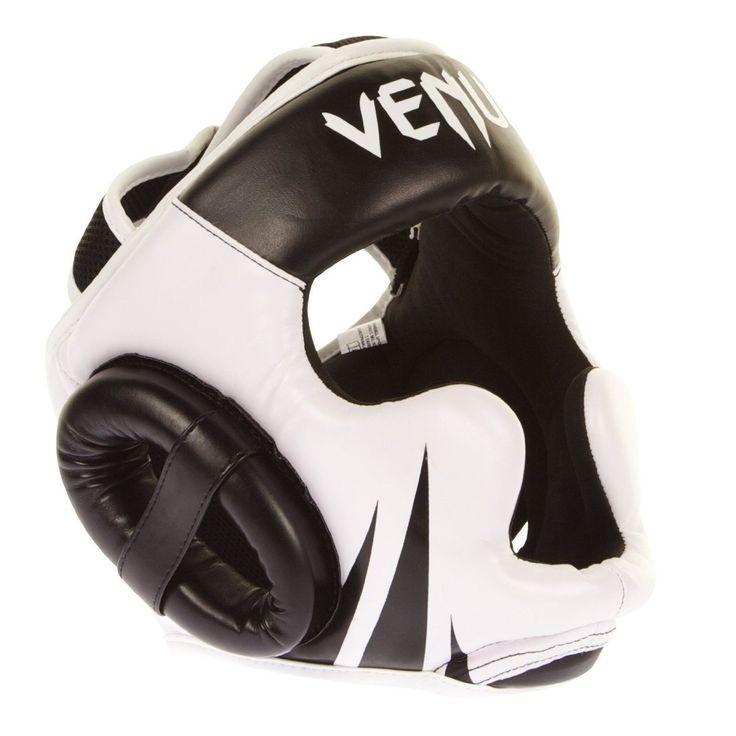 """Venum Headgear """"Challenger 2.0"""" - Black/White - One Size"""