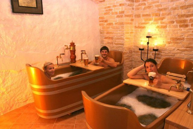 Enjoy a relaxing beer bath, spa or massage in one of these original beer spas in Prague. Tap into the health benefits of Czech beer while in Prague!