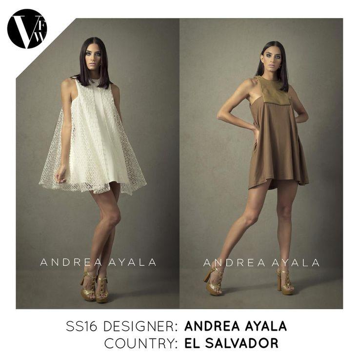 This season we have a designer from El Salvador @byAndreaAyala