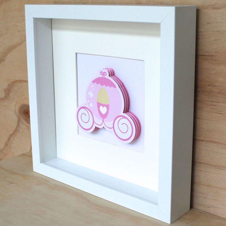 3D Princess Carriage Frame