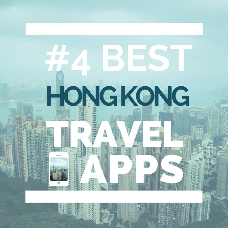 Hong Kong  some of the best apps I used while there