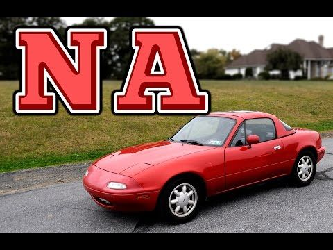 """Regular Car Reviews: 1990 MX5 NA Miata - YouTube, A little history lesson, driving dynamics,  and """"The Basic Bro."""""""