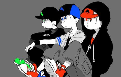 Osomatsu-san Osomatsu, Karamatsu & Choromatsu #Anime「♡」