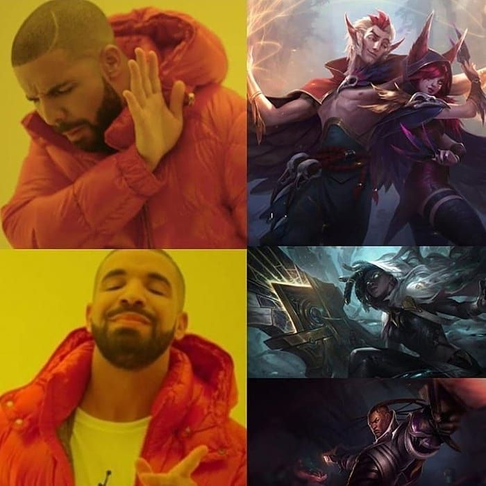 This Gona Be A Real Duo Leagueoflegends Memes Katarina Bronze Yasuo Annie Zed Riven Kayn Silver Gol League Of Legends League Of Legends Memes League