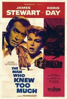 February 24 – Doris Day records her most famous song: Que Sera, Sera (Whatever Will Be, Will Be). It is from Alfred Hitchcock's The Man Who Knew Too Much, in which Day co-stars with James Stewart.