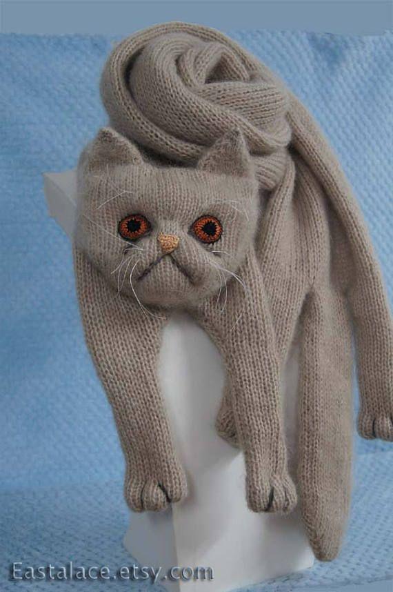 425 best images about figuras de gatos on pinterest for Tejido persa