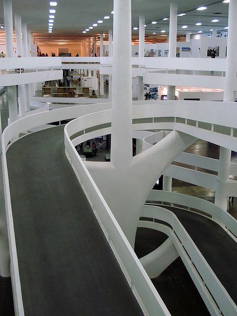 Sao Paulo Bienalle Hall by Oscar Niemeyer
