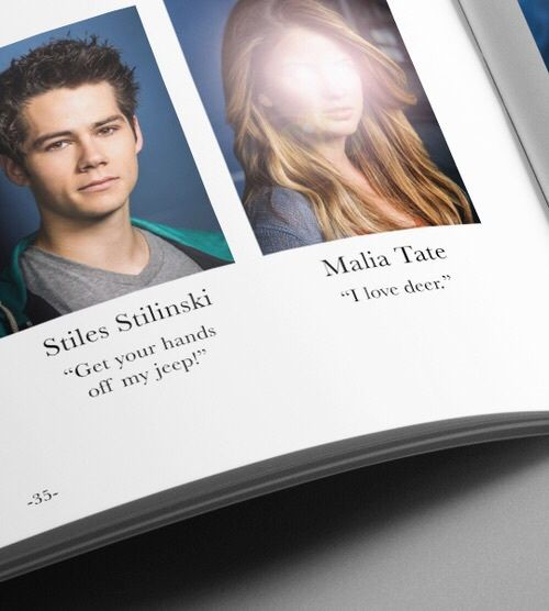 deer, jeep, stiles, teen wolf, malia, senior quote