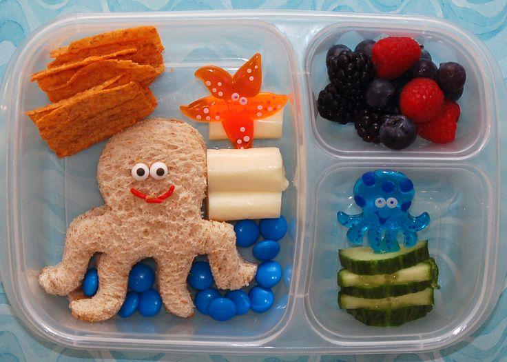 Octopus Bento Box for Kids