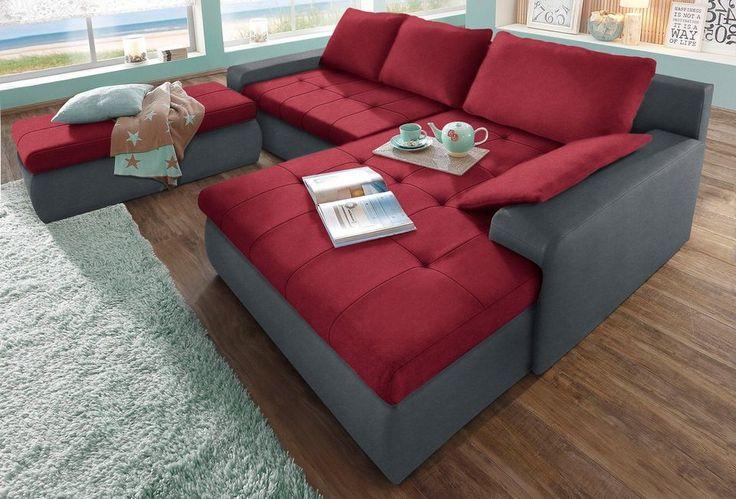 Polsterecke, Sit & More, wahlweise in XL oder XXL ab 499,99€. Bitte Hocker separat bestellen, Inklusive Bettfunktion und Bettkasten bei OTTO