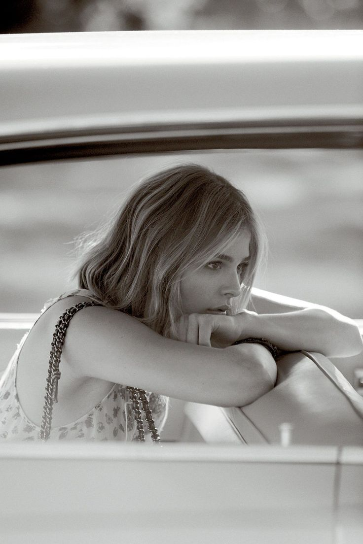 Chloe Moretz – Coach Fragrance Photoshoot 2016