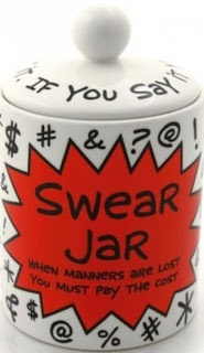 THE SWEAR JAR a great #office #fundraisingidea to collect a little cash for #SOSAfrica #childrenscharity AND get everyone out of a bad habit! #winwin