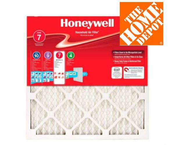 38% Off 4-Pack Honeywell Air Filters  Free Shipping $22.99 (homedepot.com)