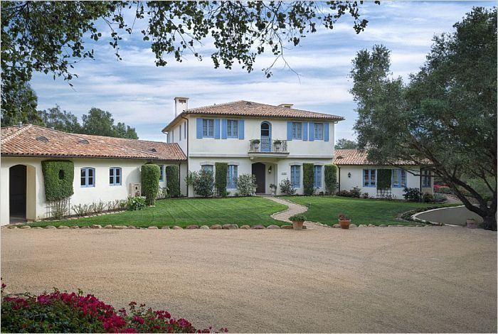Auction - Montecito French Chateau. 715 Ladera Lane --- http://emailflyers.net/38717