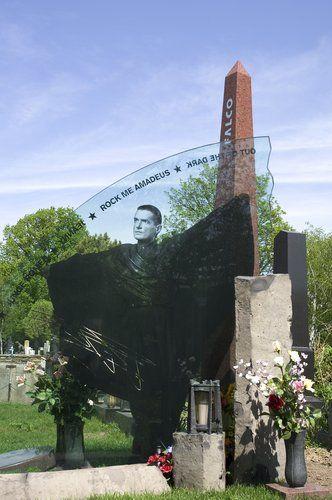 """Grave of Falko """"Rock me Amadeus"""" Wiener Zentralfriedhof"""