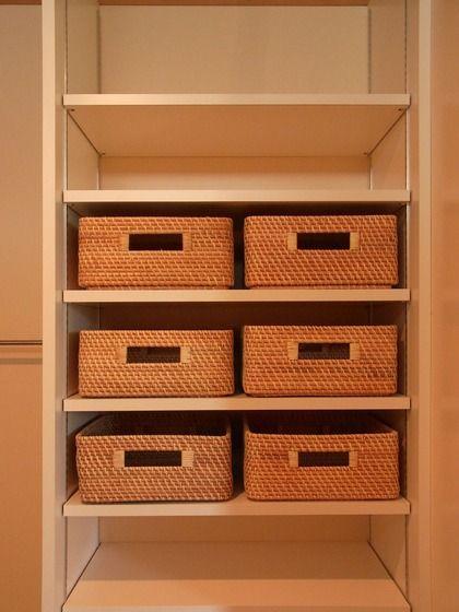 ジェネビルの日記 :洗面所の収納棚