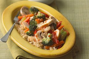 Italian-Style Chicken Stir-Fry