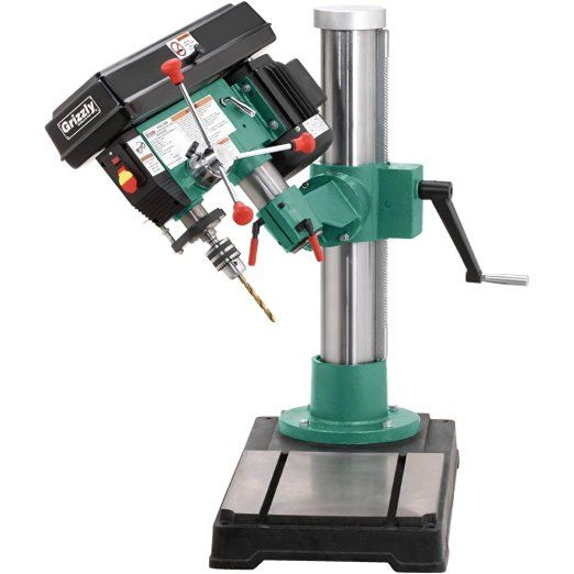 Grizzly G9969 Radial Drill Press - Power Magnetic Drill Presses - Amazon.com