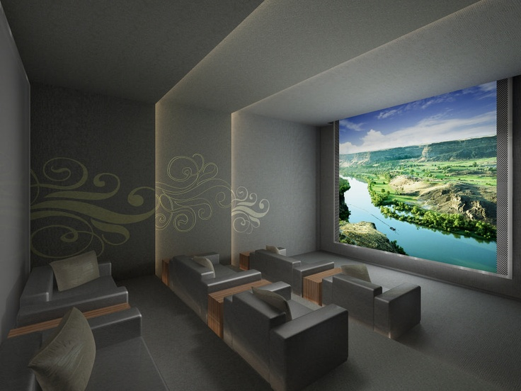 The Theatre Room Rendering At Lumiere