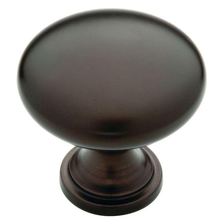 Liberty 1-1/4 in. Dark Oil Rubbed Bronze Hollow Cabinet Knob