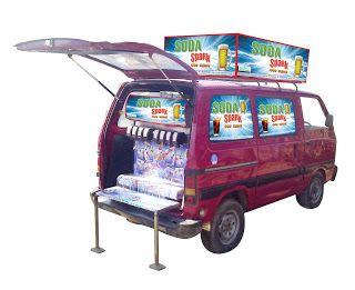 Soda Express, Soda Machine Manufacturer, Soda Vending Machine Manufacturer in Gujarat: Soda Spark Machine in Maruti Van by Everest Founta...