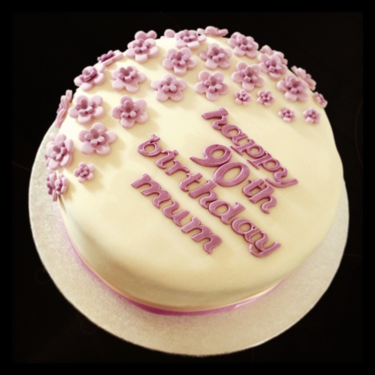 Th Birthday Cake Decorating Ideas