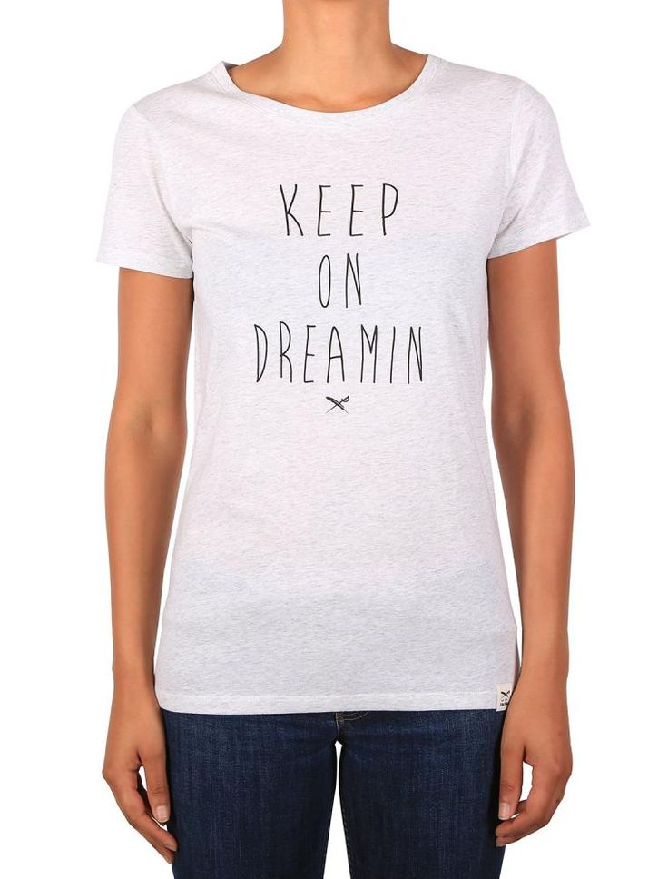 Dreamin Tee [white mel.] *** IRIEDAILY SPRING SUMMER COLLECTION 2016 – MY CITY MY RULES – OUT NOW: https://www.iriedaily.de/blog/iriedaily-spring-summer-collection-2016-my-city-my-rules-out-now/