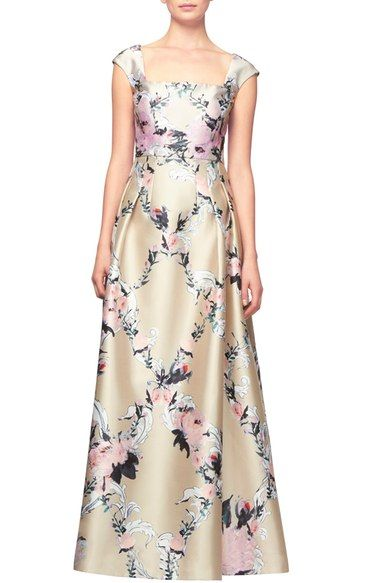 Kay Unger Floral Ballgown available at #Nordstrom