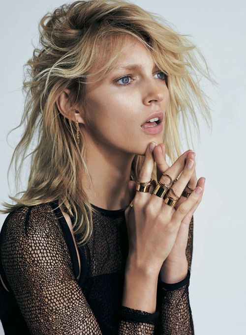 Anja Rubik for Eric Guillemain in S Moda's April 2013 cover shoot