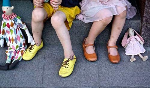 #graindechic. Clothes for children. Sunflower shorts.