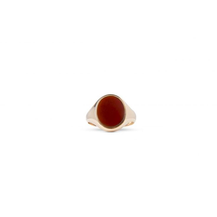 15ct Victorian Carnelian Gents Ring