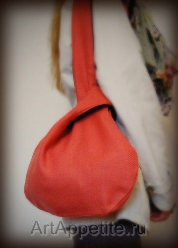 bag japanese knot bag