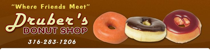 Doughnuts - Newton, KS - Druber's Donut Shop...the BEST and FRESHEST donuts around!