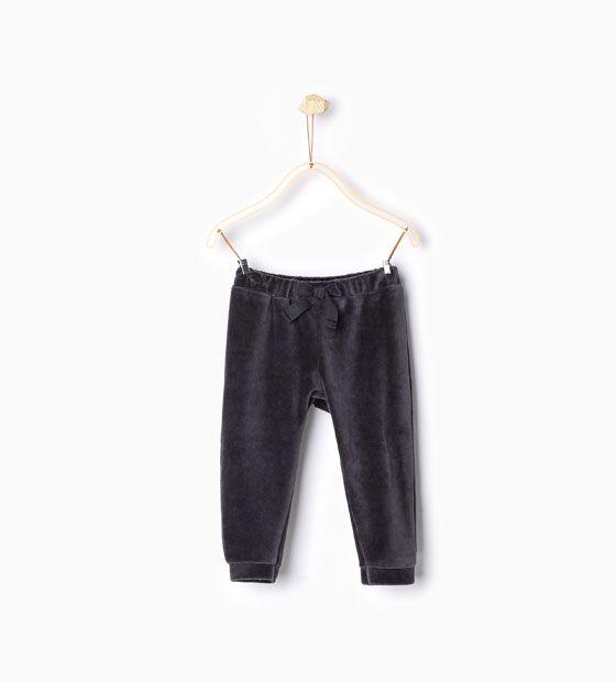 ZARA - KIDS - Velvet trousers